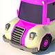 Low Poly Ice-Cream Van