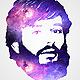Galaxy Face Logo Action