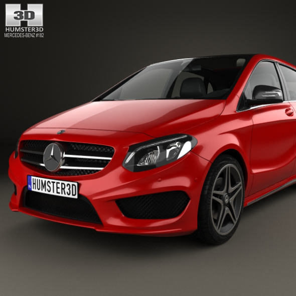 Mercedes-Benz B-Class (W246) AMG Line 2014 By Humster3d