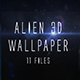 Alien 3d wallpaper - GraphicRiver Item for Sale