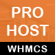 Prohost WHMCS and HTML Template - ThemeForest Item for Sale