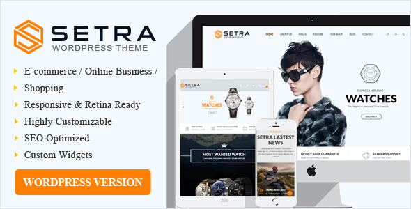 Setra WooCommerce WordPress Theme