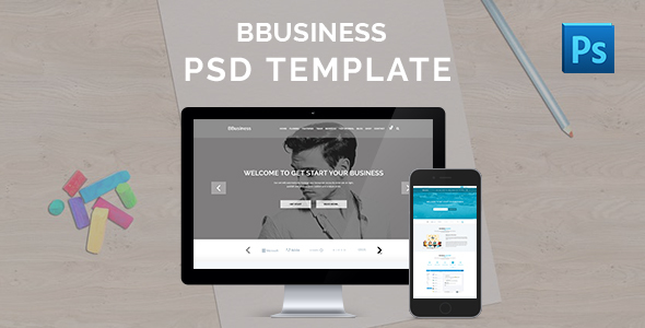 BBusiness – Onepage Business PSD Template