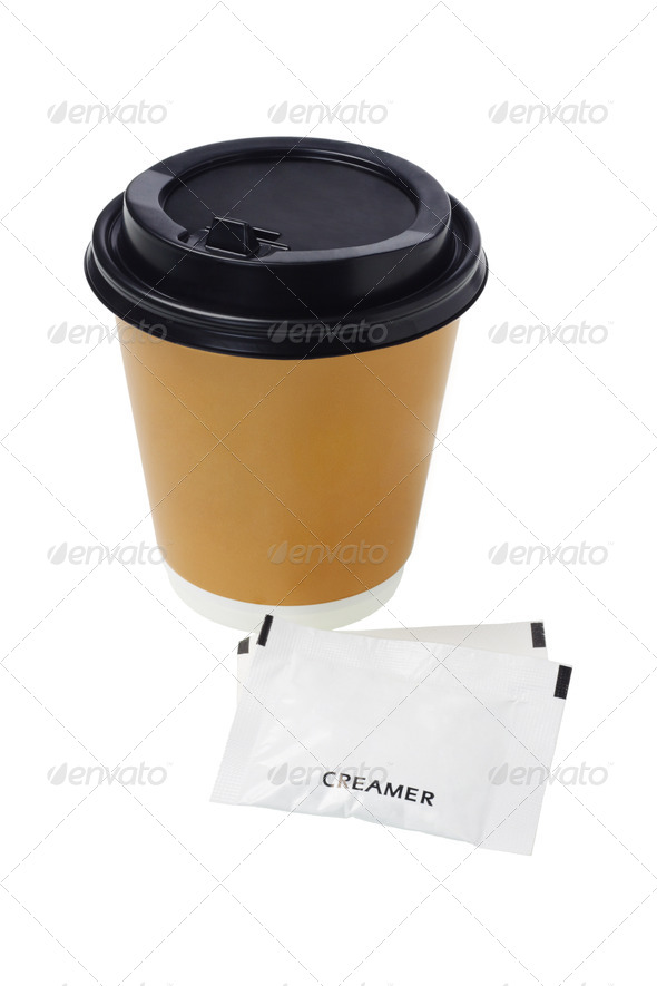 Coffee and Creamer - Stock Photo - Images