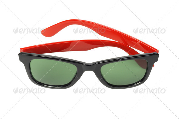 Pair of Fashionable Sunglasses - Stock Photo - Images