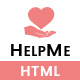 HelpMe | Nonprofit, Donation, Charity HTML5 Template - ThemeForest Item for Sale