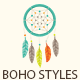 11 Boho Styles - GraphicRiver Item for Sale
