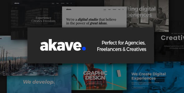 Akave - Theme for Agencies, Freelancers & Creatives