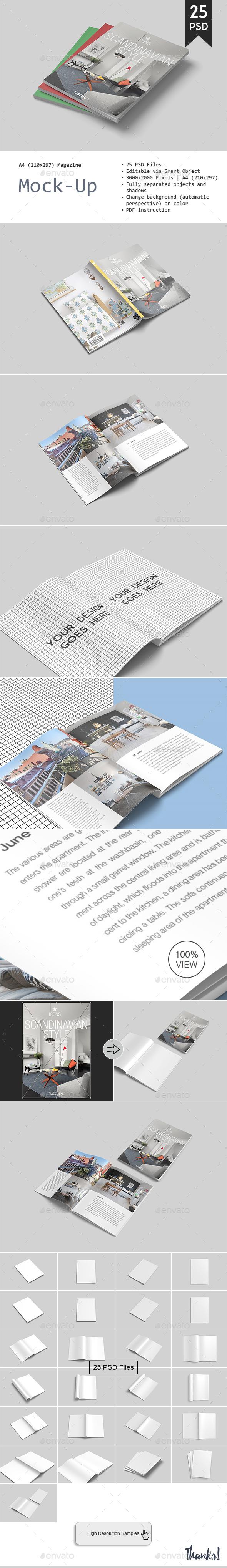 Magazine Mockup - Magazines Print