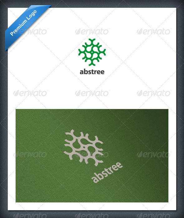 Abstract Tree Logo Template - Abstract Logo Templates
