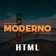 Modern - Responsive Multipurpose HTML Template - ThemeForest Item for Sale