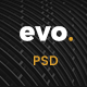 EVO - Creative Architecture & Interior PSD Template Nulled