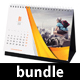 3 in 1 Creative Desk Calendar 2018 Bundle 03 - GraphicRiver Item for Sale