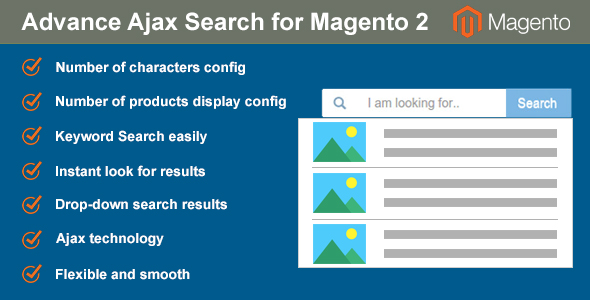 Advance Ajax Search for Magento 2 - CodeCanyon Item for Sale
