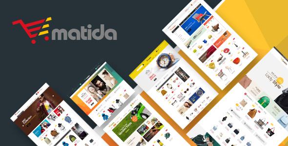 Matida – Multipurpose Responsive Magento Theme