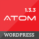 Atom - Responsive WooCommerce WordPress Theme Nulled