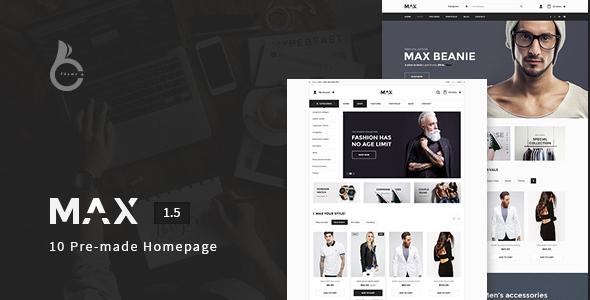 Max - Responsive WooCommerce Theme - WooCommerce eCommerce