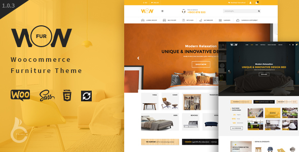 Wow - Furniture Marketplace Theme - WooCommerce eCommerce