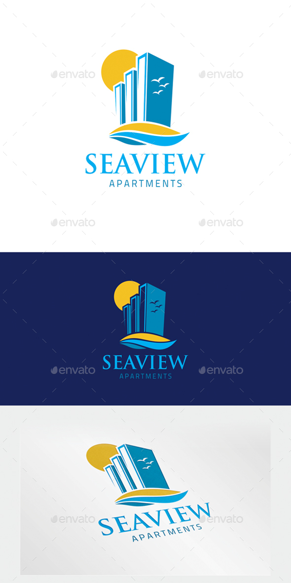 Apartment Logo - Letters Logo Templates