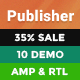 Publisher - Newspaper Magazine News Nulled