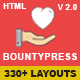 Bountypress - Nonprofit, Crowdfunding & Charity HTML5 Template Nulled