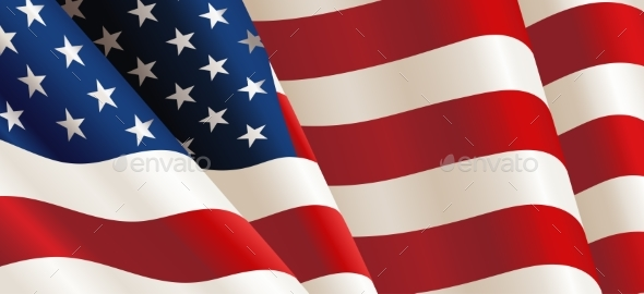 United States Flag - Backgrounds Decorative