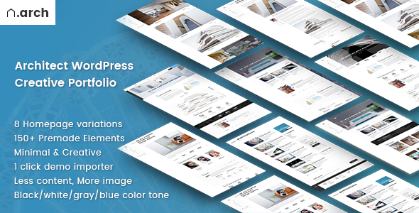 Architect | Architecture Portfolio WordPress Theme