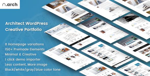Architect | Architecture Portfolio WordPress Theme