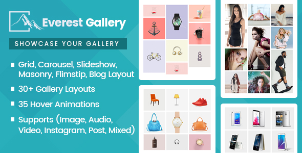 Everest Gallery - Responsive WordPress Gallery Plugin - CodeCanyon Item for Sale