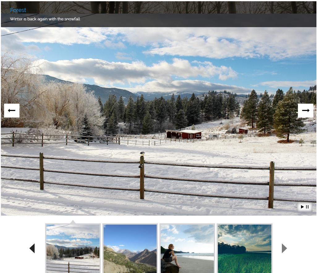 Everest Gallery - Responsive WordPress Gallery Plugin by AccessKeys