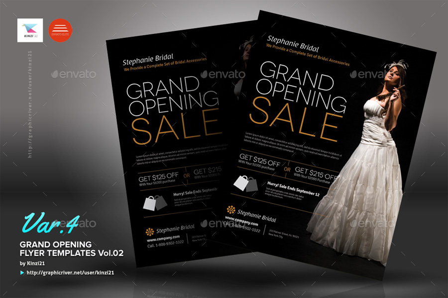 Grand Opening Flyers Vol.02 By Kinzi21 | Graphicriver