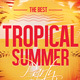 Tropical Summer Flyer Template - GraphicRiver Item for Sale