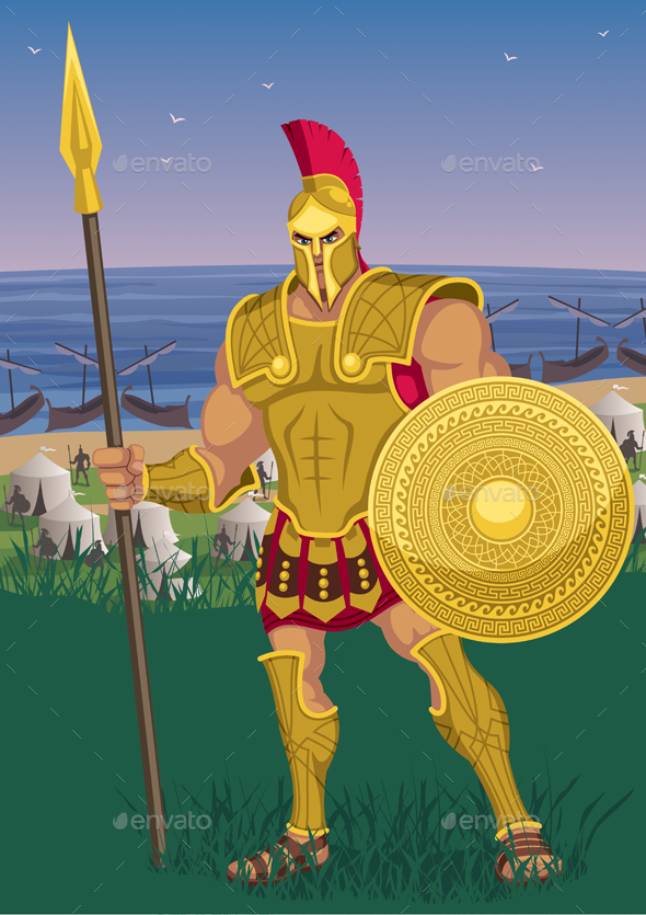 Achilles - People Characters