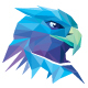 Colorful Polygons Eagle Head Logo - GraphicRiver Item for Sale