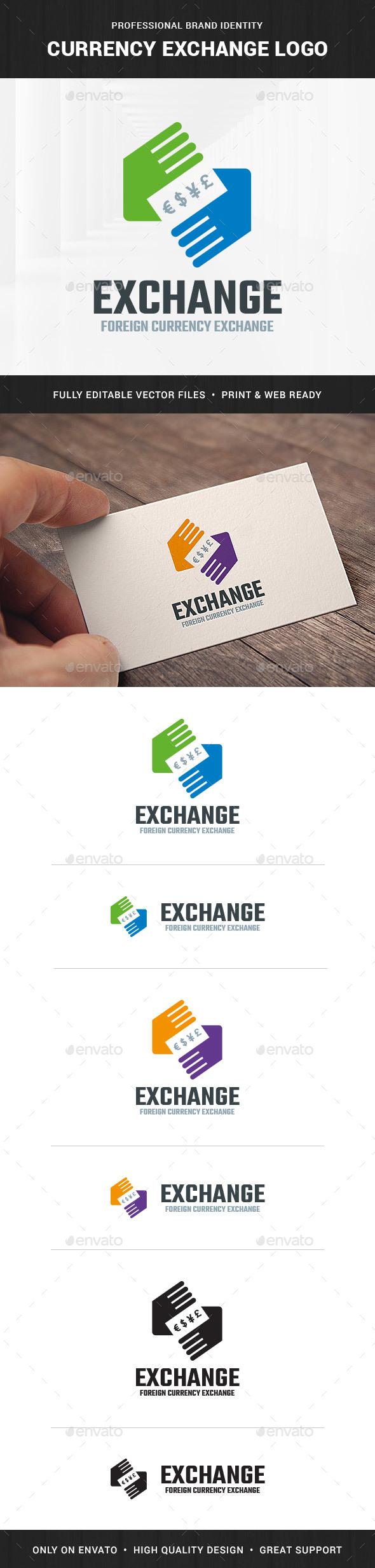 Currency Exchange Logo Template - Symbols Logo Templates
