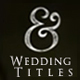 11 Wedding Titles - VideoHive Item for Sale