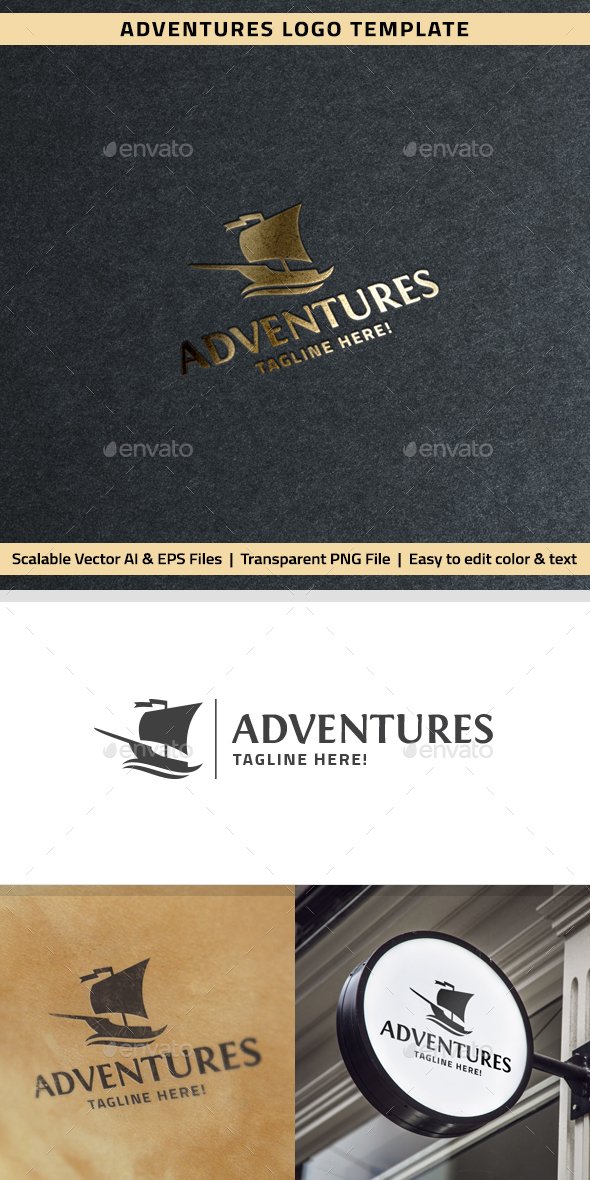 Adventures Logo - Objects Logo Templates