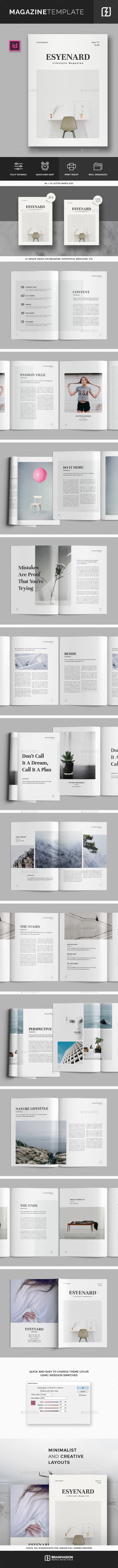 Magazine Template Vol.03 - Magazines Print Templates