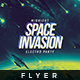 Space Invasion - Flyer Template