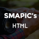 SMAPIC's landing page for app - ThemeForest Item for Sale