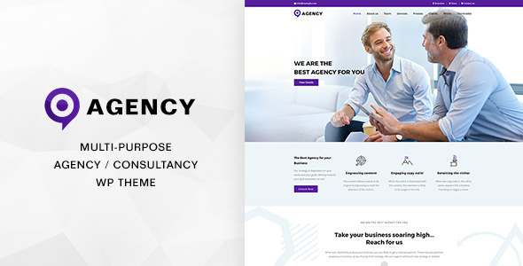 Agencies | Multipurpose Creative Agency / Consultancy Theme