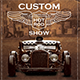 Hot Rod Car Show - GraphicRiver Item for Sale