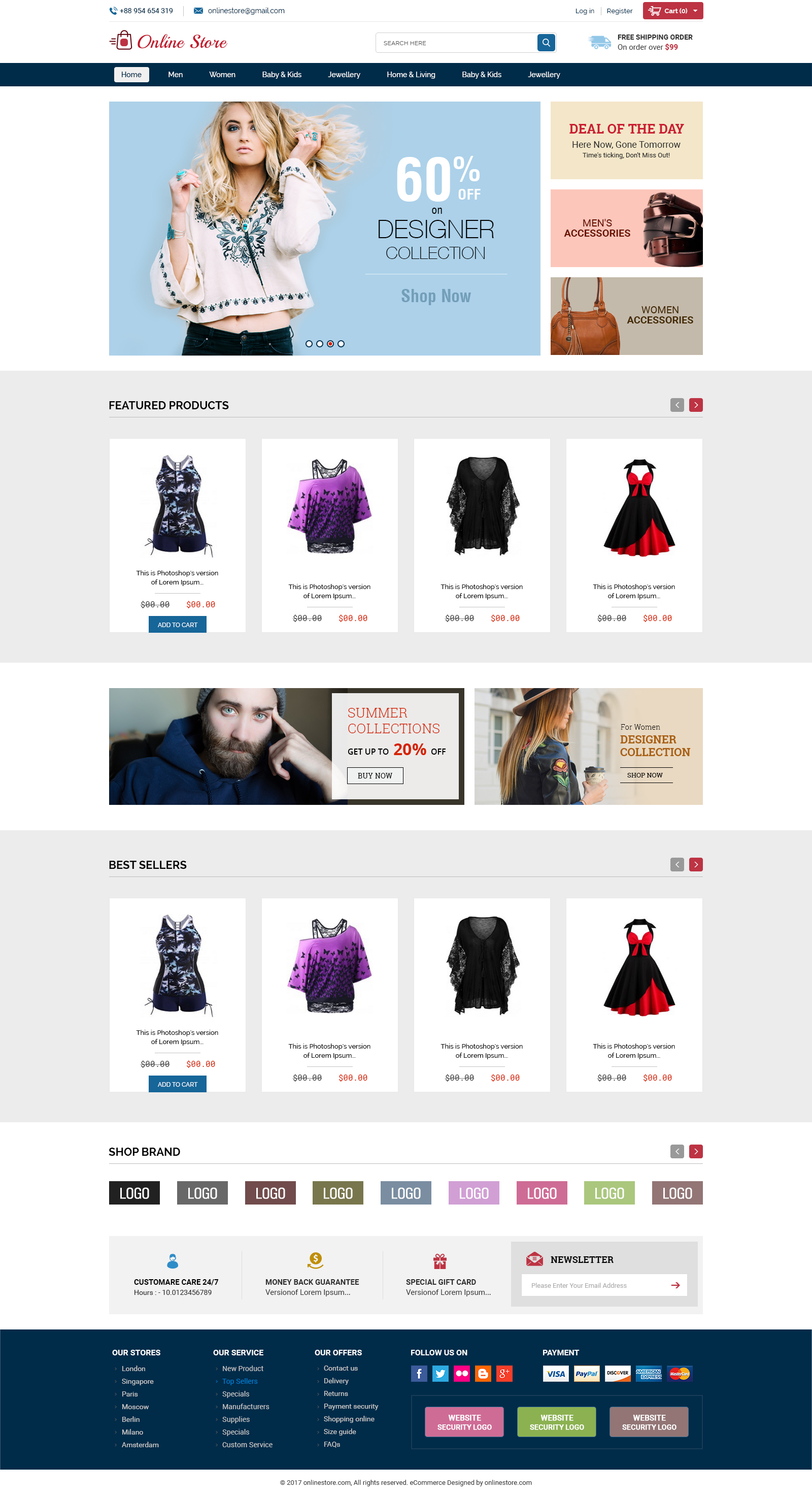 d79598d204 Online Store - Creative Ecommerce PSD Web Templates - PSD Templates ·  Screenshot 00 Homepage 00.jpg Screenshot 01 Homepage 01.jpg ...