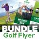 Golf Tournament Flyer Templates