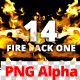 Fire Pack One - 14 Footage Video - Alpha Channel - VideoHive Item for Sale