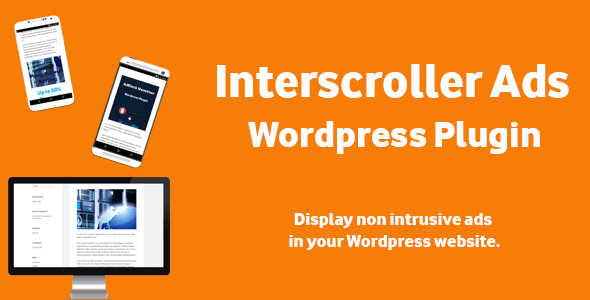 Interscroller Ads - Wordpress Plugin - CodeCanyon Item for Sale
