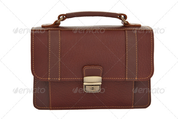 Small hand bag isolated - Stock Photo - Images
