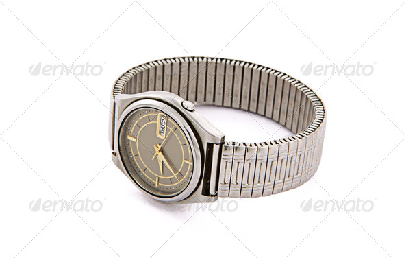 Wrist watch isolated - Stock Photo - Images