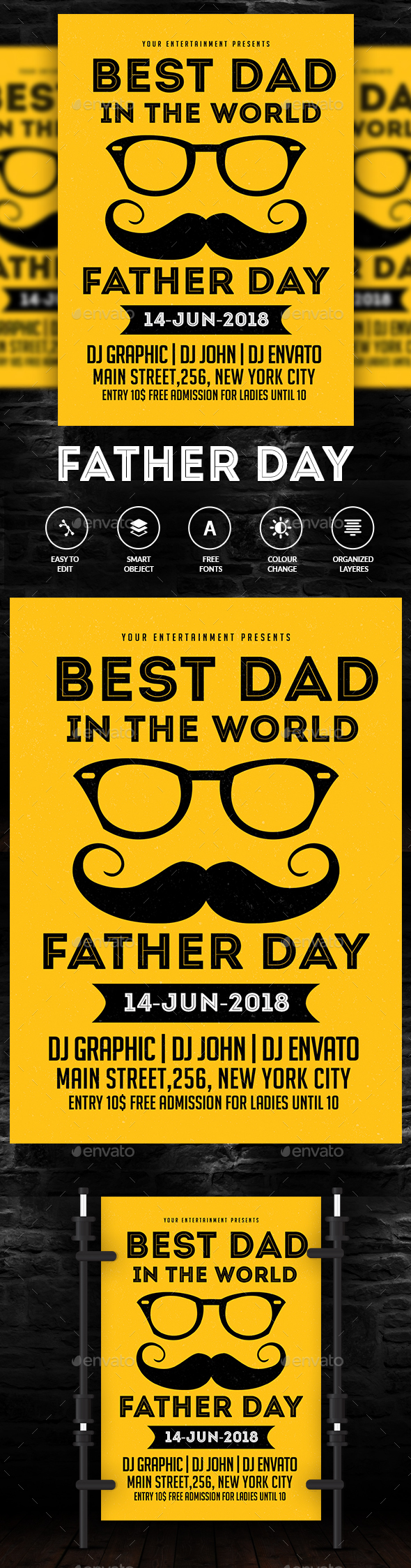 Happy Father's Day - Concerts Events
