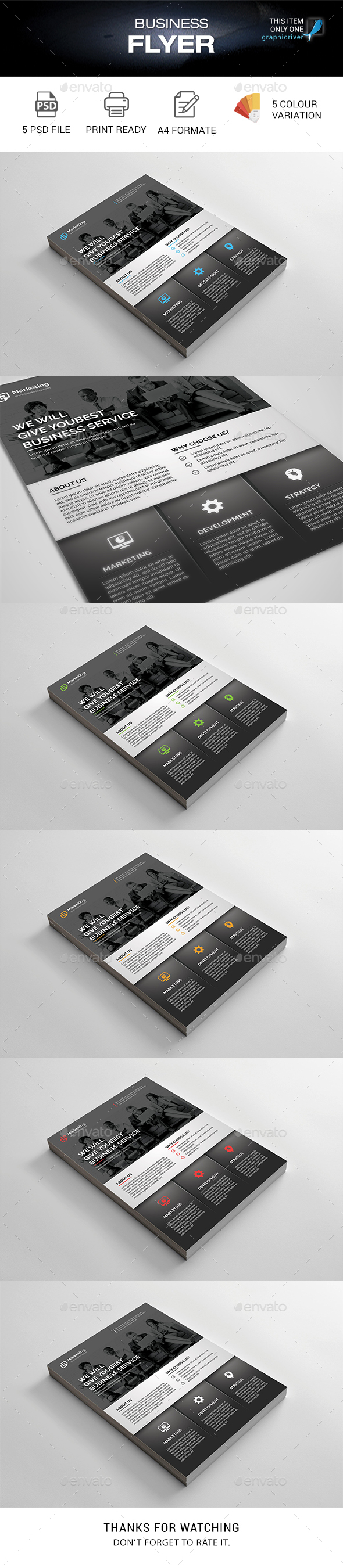Business Flyer - Corporate Flyers